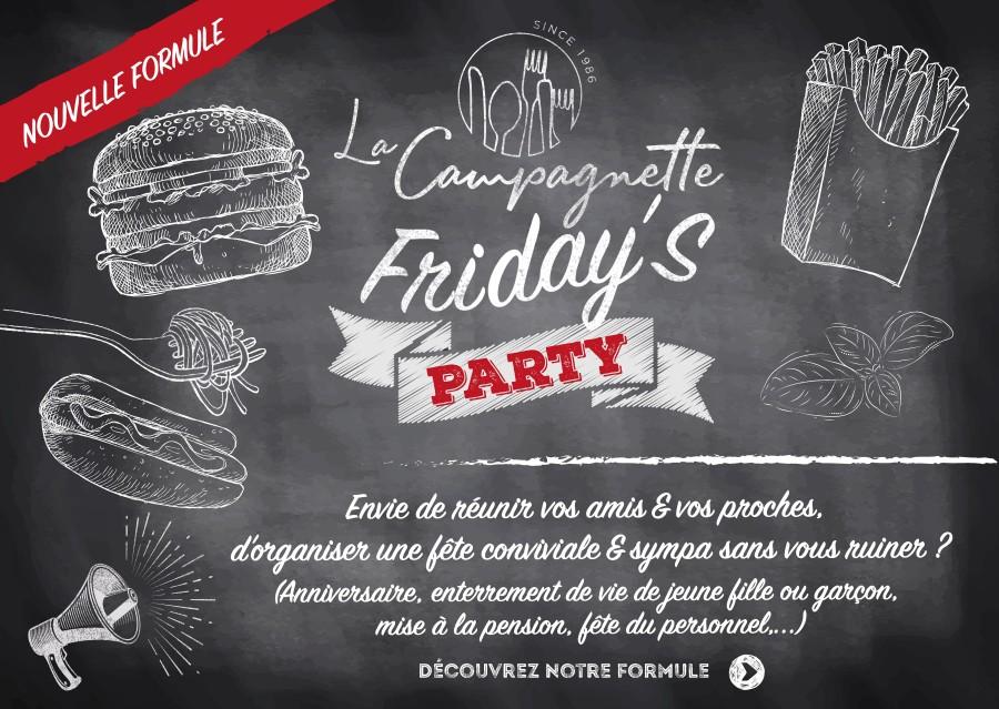 La Campagnette à Balâtre Friday's Party